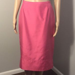 BCBG MAXAZRIA COLLECTION: BRIGHT PINK SKIRT:  Sz 6